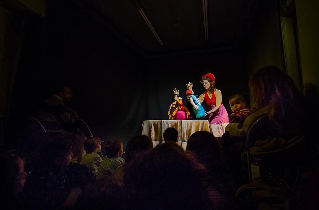 Πάρτι με παράσταση στο Κουκλόσπιτο Πράσσειν Άλογα