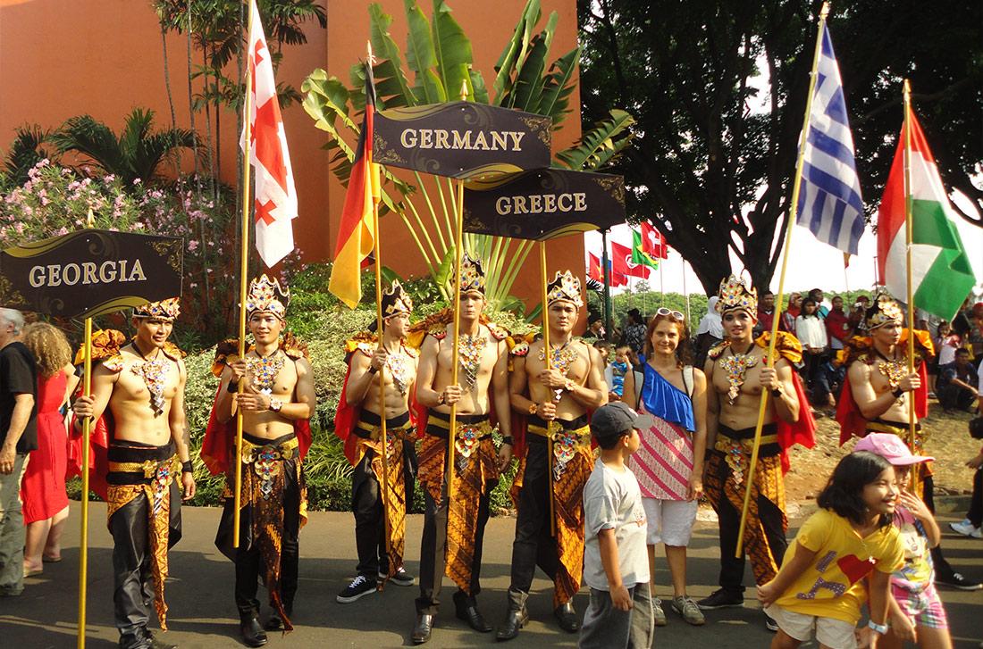 Τελετή έναρξης World Puppet Carnival