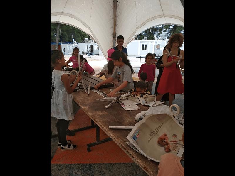 Εργαστήρι Κούκλας σε προσφυγική δομή